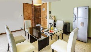 Salle à manger chambre Hôtel Krystal Urban Cancún Cancún